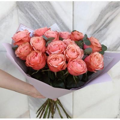 Роза Кахала 15 штук