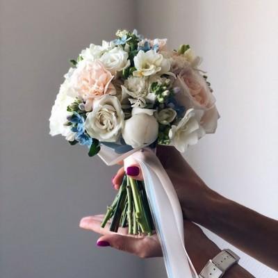 Свадебный букет 10